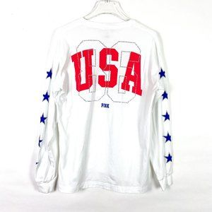 Victoria's Secret PINK Rhinestone USA T-Shirt